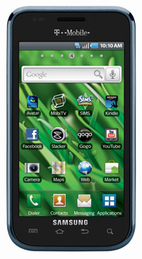 Samsung Vibrant front