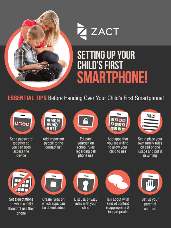 How to set up a child's smartphone