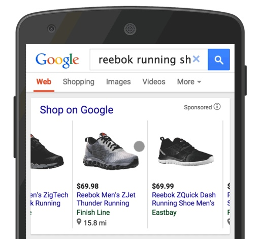 Shop on Google