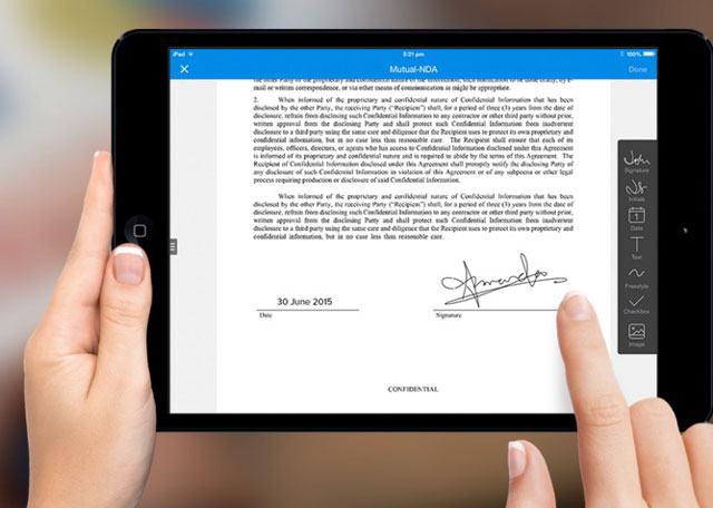 how to add a signature to a document