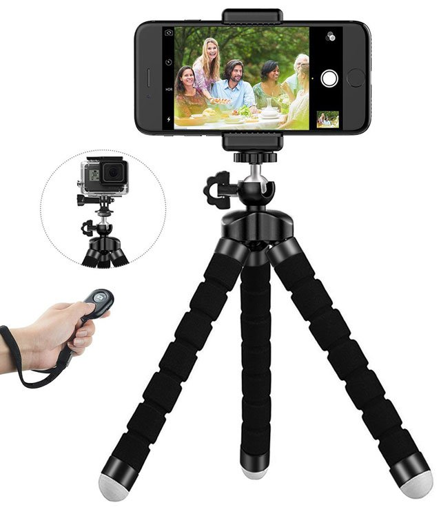 LONENESSL digital cam phone tripod set