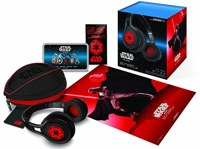 Star Wars Darth Vader Earbuds with microphone