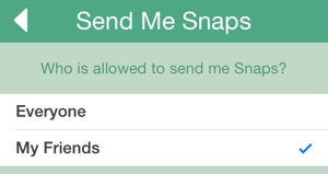 Send Me Snaps screenshot