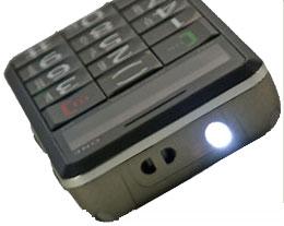 SnapFon EzOne flashlight