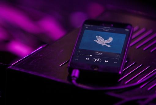 Spotify app for iOS