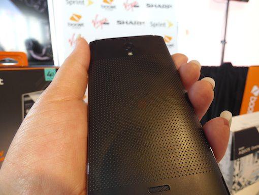 Spring Aquos Crystal Smartphone