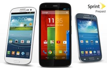 Sprint Prepaid Smart phone options