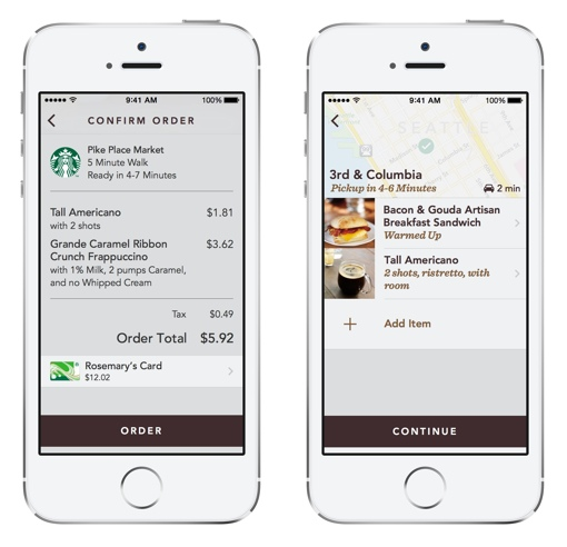 Starbucks Mobile Order & Pay