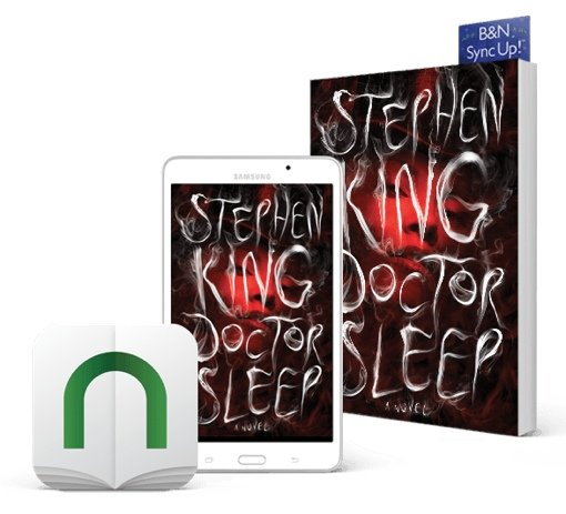 Stephen King's Doctor Sleep (Nook Sync Up!)