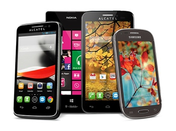 T-Mobile smartphone selection