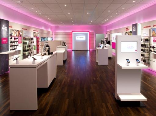 T-Mobile Store interior