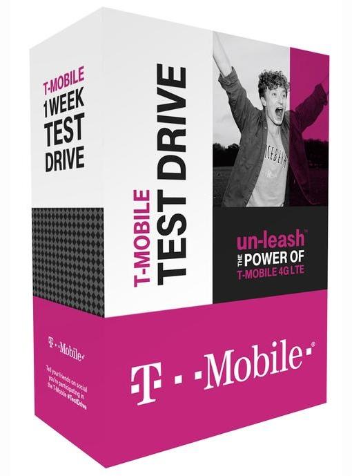 T-Mobile Test Drive box