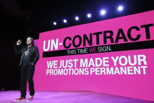 T-Mobile event with CEO John Legere