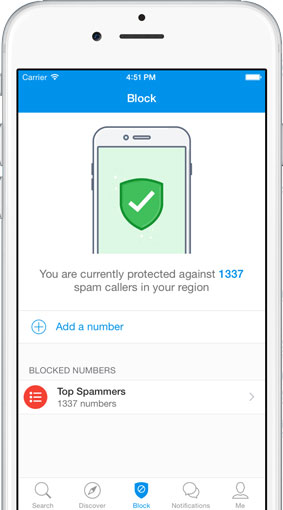 Truecaller for iPhone