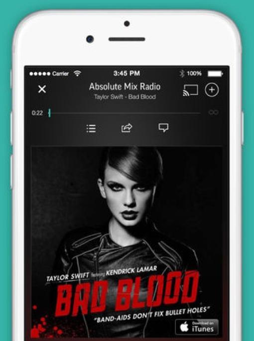 TuneIn Radio on iPhone