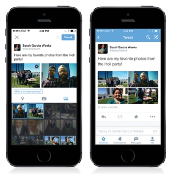 Twitter's new photo tagging feature