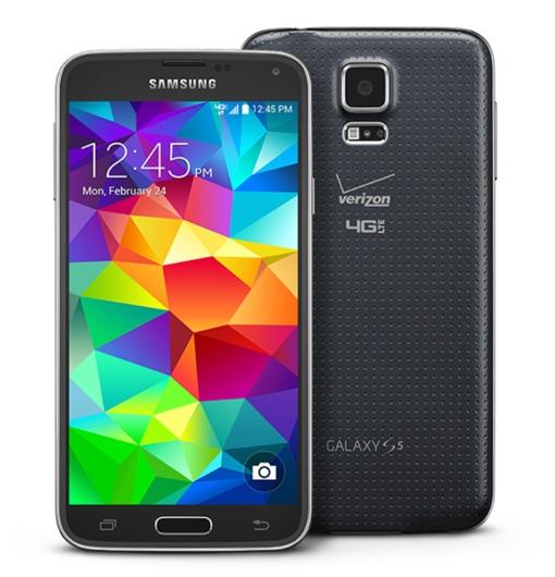 Verizon-branded Samsung Galaxy S5