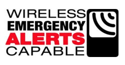 Wireless Emergency Alerts label