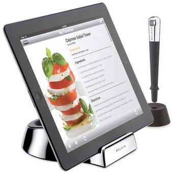 Belkin Kitchen Stand and Stylus for Tablets