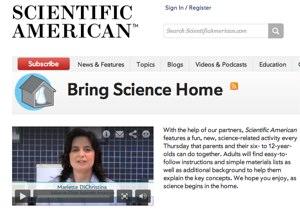 Scientific American Bring Science Home