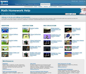 Discovery Education Homework Help