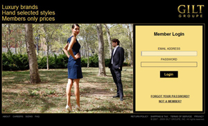 gilt group shopping site