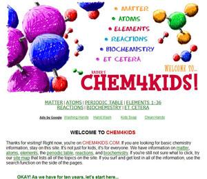 Rader's Chem4Kids.com