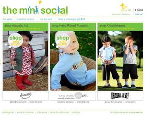theminisocial.com shopping site